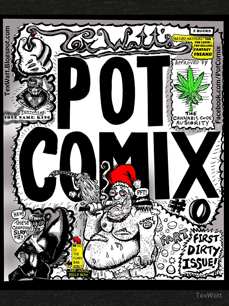 Pot Comix #0, Cover by TexWatt