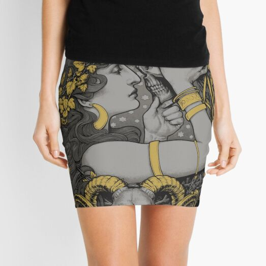THE WITCH Mini Skirt