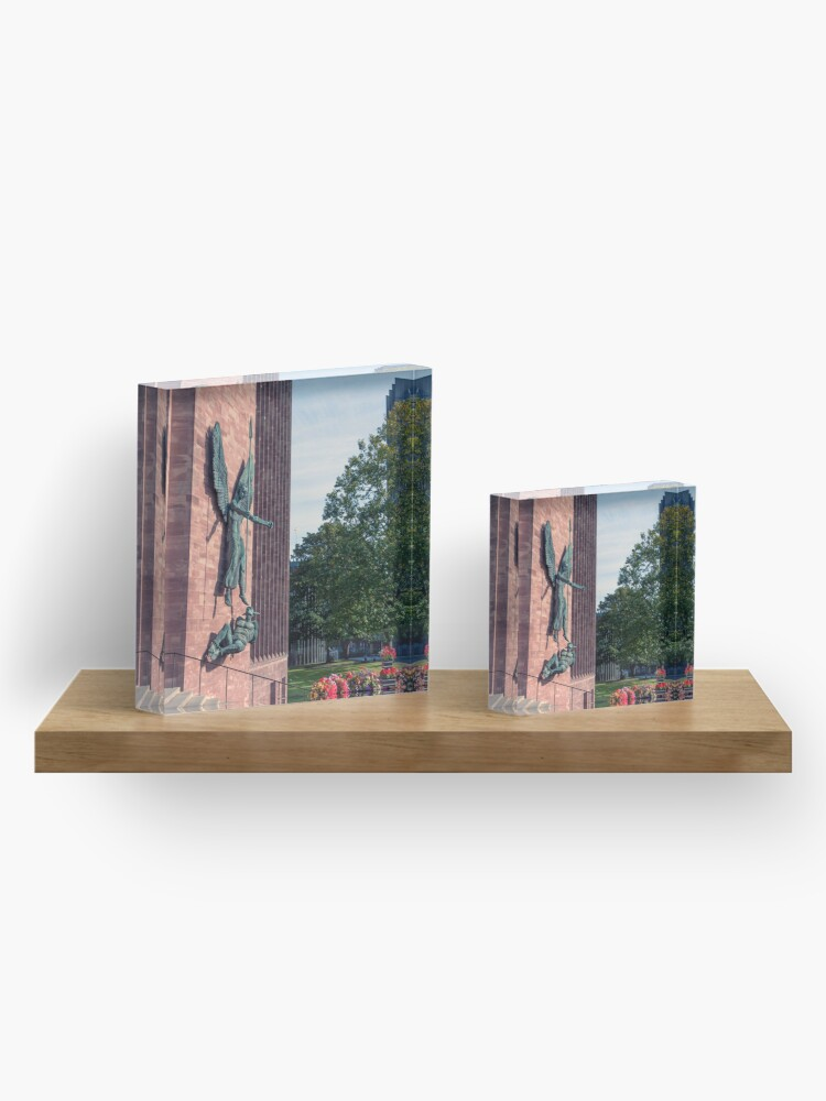 Alternate view of Coventry Cathedral Acrylic Block
