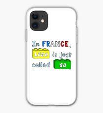 French Lego iPhone Case