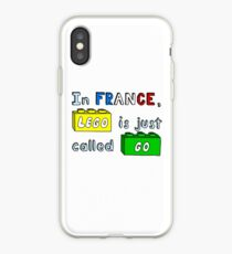 French Lego iPhone Case