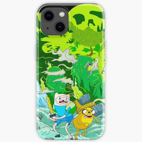 Finn and Jake Adventure Time iPhone Soft Case