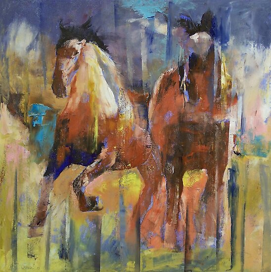 Horses by Michael Creese