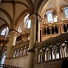 Canterbury Cathedral interior detail - Canterbury, England by Kent Burton