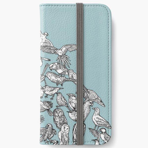 Birds evolution - detail iPhone Wallet
