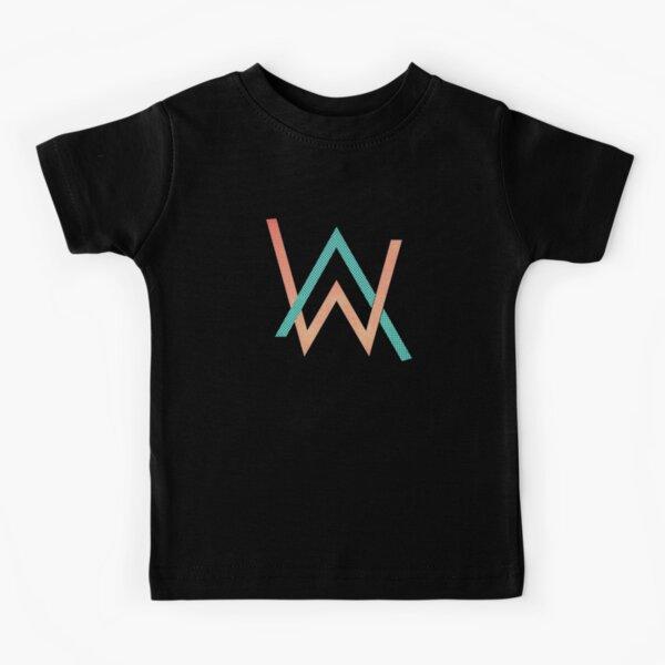 Logo de conception AW Alan Walker T-shirt enfant