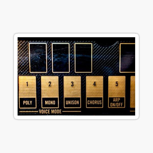 FM Synthesizer Sticker