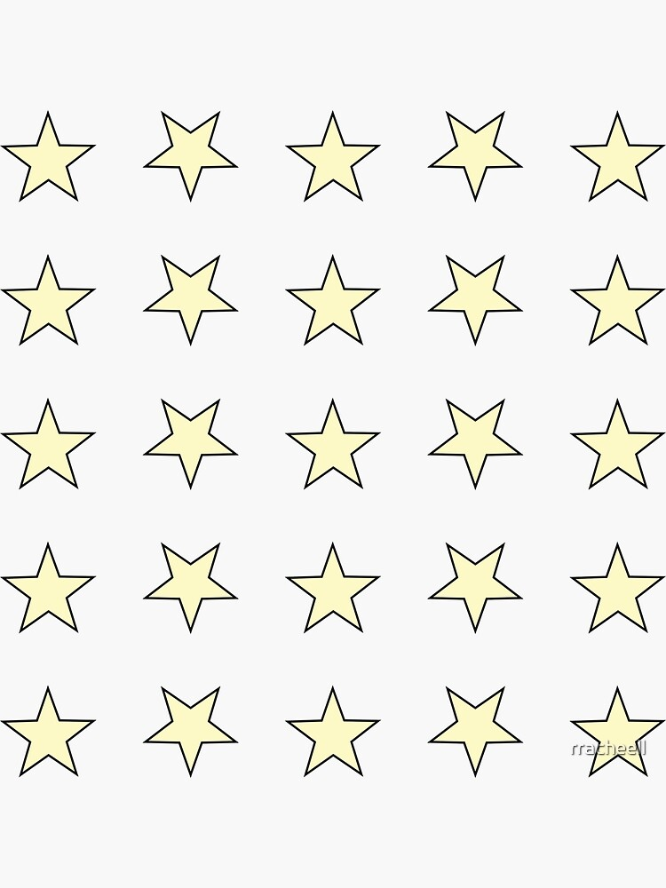 Star Set Minis - In Yellow/Black by rracheell