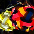 Milan. Ball Lanterns at a Street Market. Italy 2010 by Igor Pozdnyakov