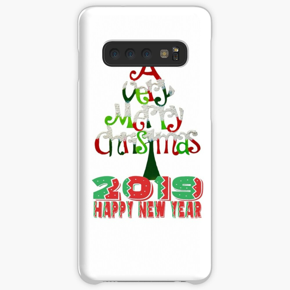 happy New Year 2019 T-Shirt Case & Skin for Samsung Galaxy