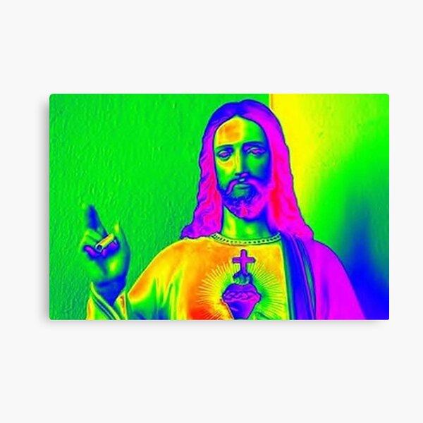 Jesus Psicodelico Lienzo