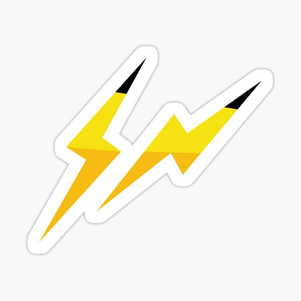 Thunderbolt - Pikachu Sticker