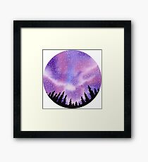 In a Circle of Trees  Framed Print
