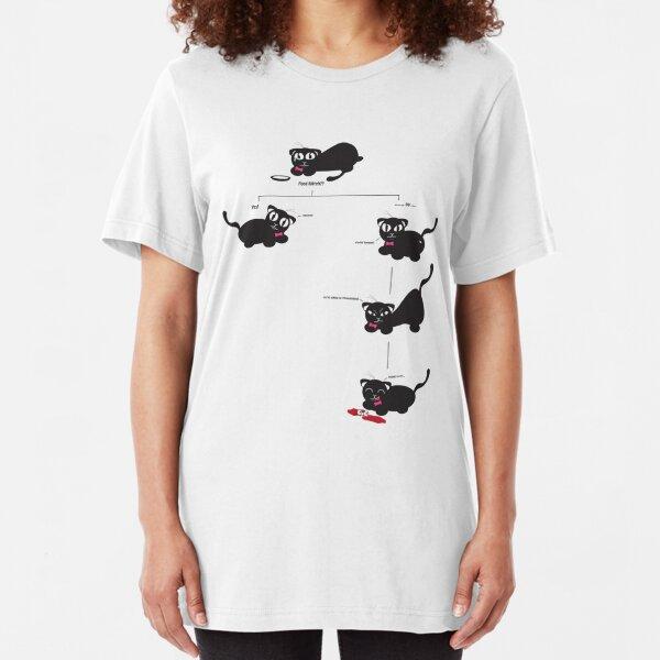 Feed Kitteh? Slim Fit T-Shirt