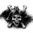 Skull and Crossbones by tonyhough