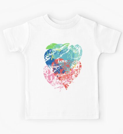 Love hearts Kids Clothes