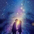 Anime paar galaxy himmel von LunarAphelion