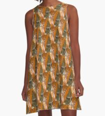 Abstract 973 A-Line Dress