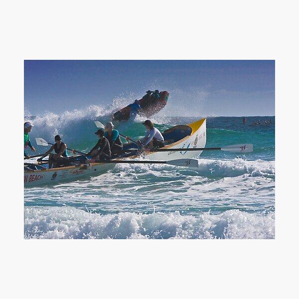 Surfboat at Narooma Beach Photographic Print