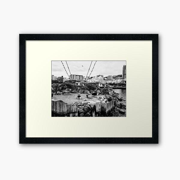 The Boatshed Garden Framed Art Print