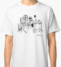 Van Gogh - The Bedroom, 1888, T-Shirt, Kunstwerkreproduktion, T-Shirts, Taschen, Poster, Drucke, Männer, Frauen, Kinder Classic T-Shirt
