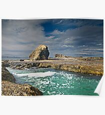 Currumbin on the Rocks Poster