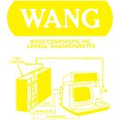 Wang Computers Logo - Yellow by philarego