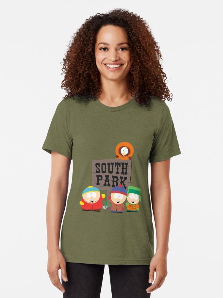 Alternative Ansicht von South Park Boys Vintage T-Shirt