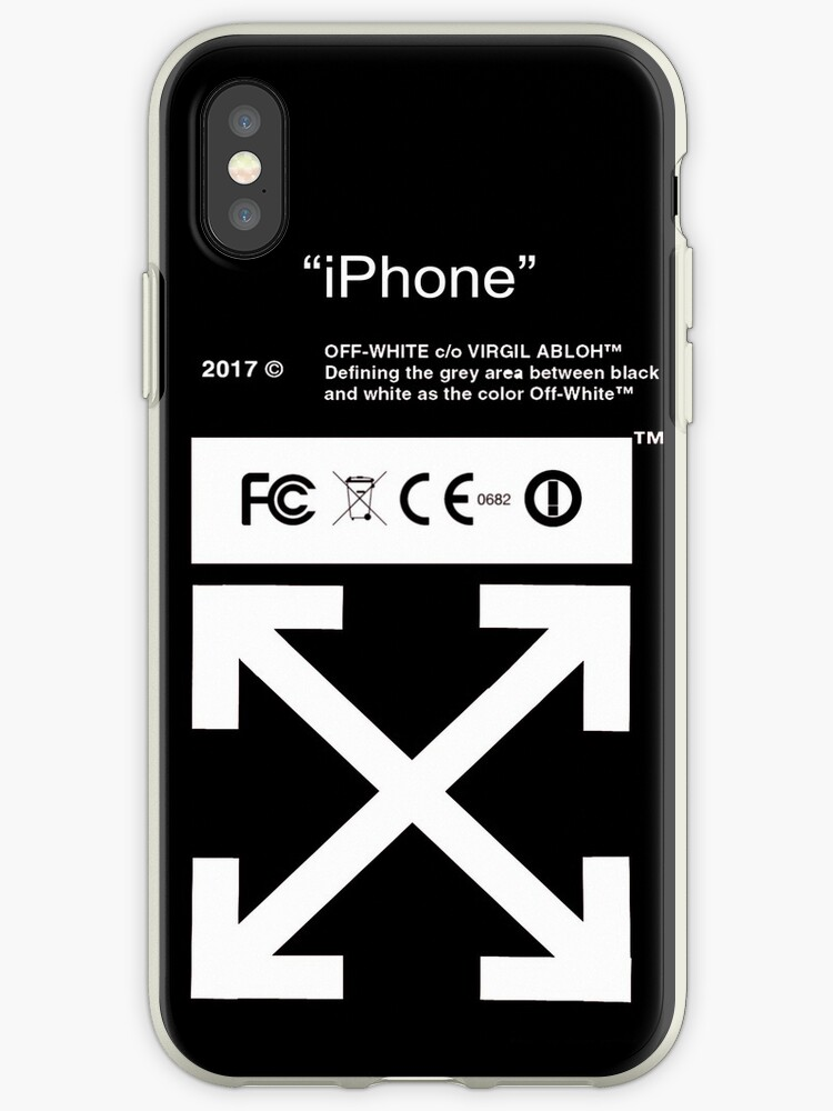 check out a9948 cb65a 'New iPhone Off White' iPhone Case by JanetTravis