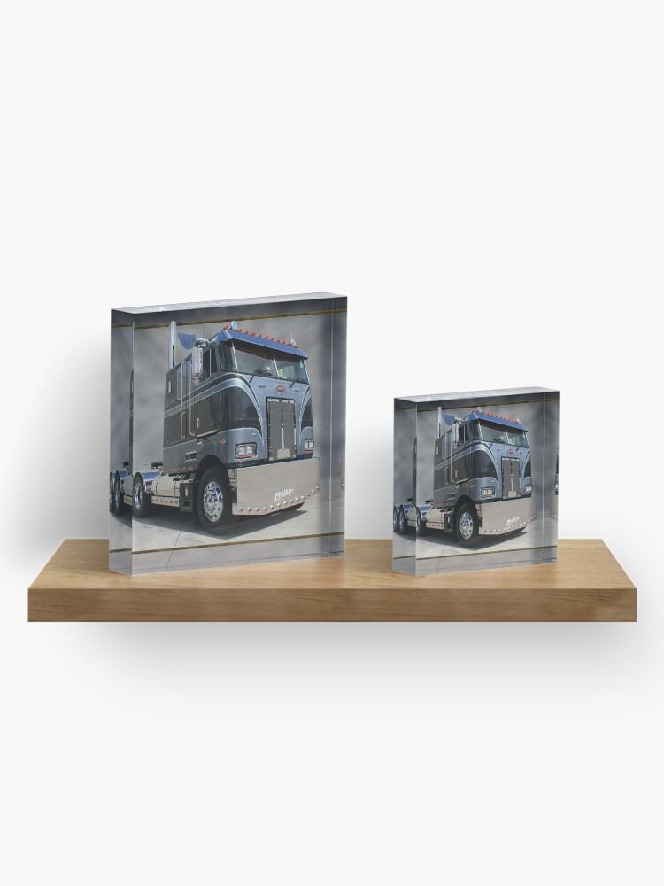 Alternate view of Phillips Peterbilt Acrylic Block