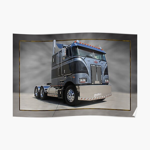 Phillips Peterbilt Poster