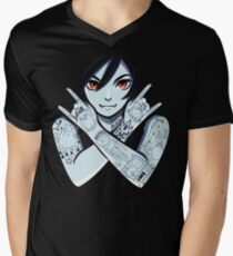 Vampire Queen Men's V-Neck T-Shirt