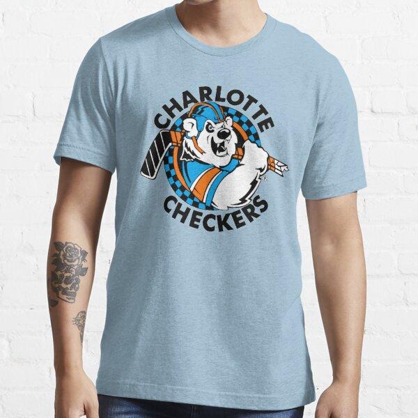 CHARLOTTE CHECKERS COOL RETRO VINTAGE SHIRT HOCKEY Essential T-Shirt