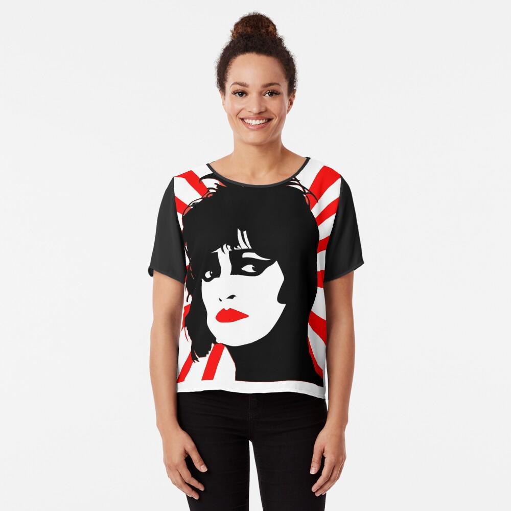Siouxsie und die Banshees Chiffontop für Frauen Vorne
