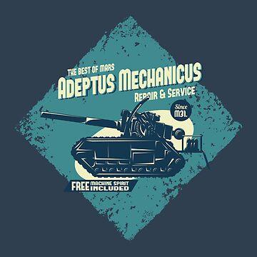 Adeptus Mechanicus - Basilisk - Blue by moombax