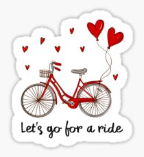 Let's Go For a Ride Sticker