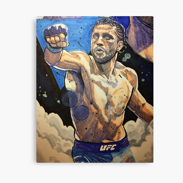 Brian Ortega Ufc Fighter Fan Art Canvas Print