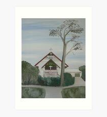 """St Augustines Chapel"" Church Art Print"