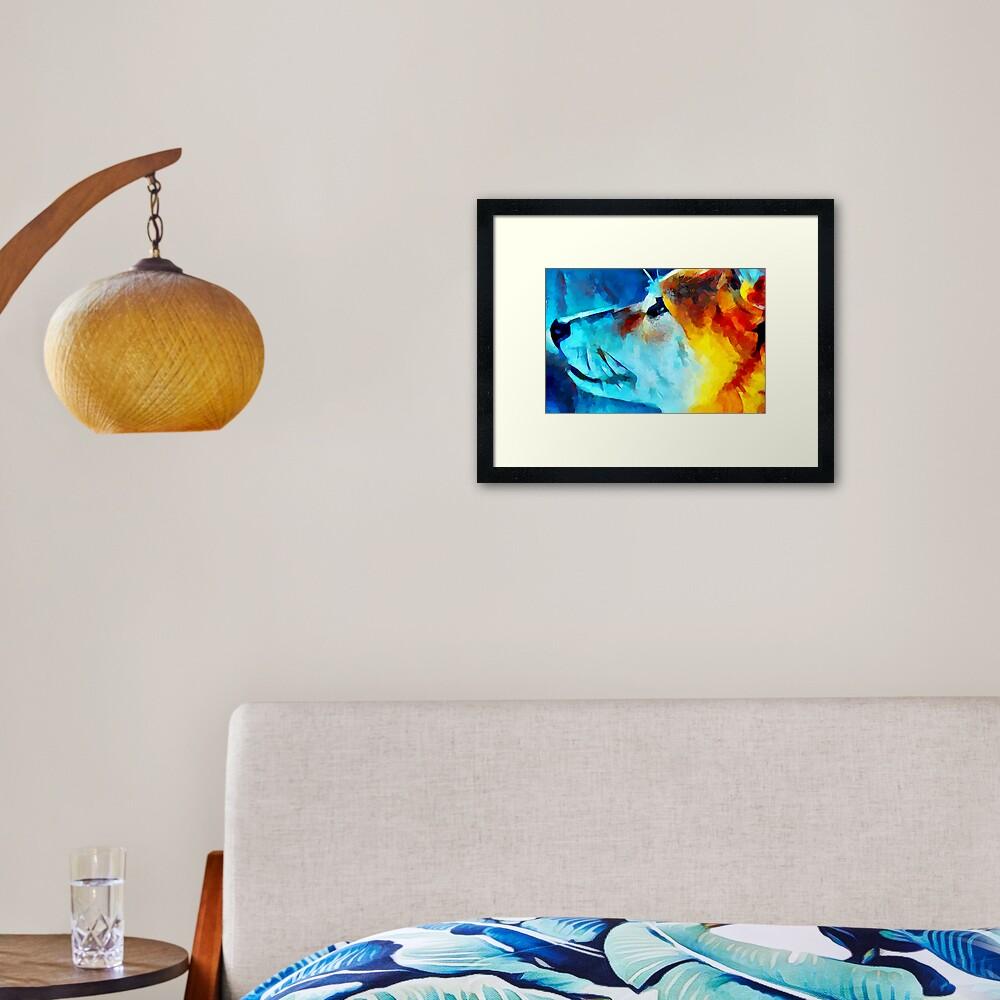 Shiba Inu 2 Framed Art Print