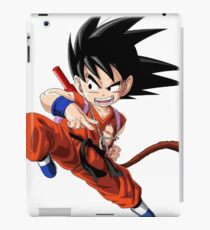 Young Goku fighting stance iPad Case/Skin