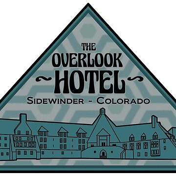 The Overlook Hotel (Blue & Black Variation) by thedrumstick