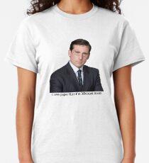 I love paper like I'm Michael Scott Classic T-Shirt