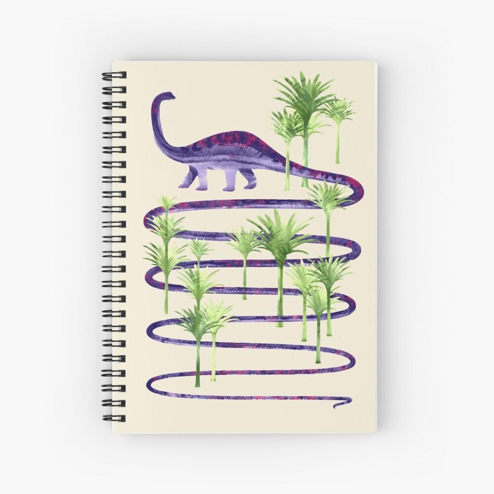 Belleza prehistórica Cuaderno de espiral