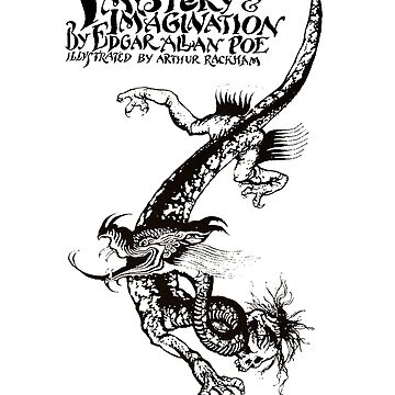 Tales of Mystery and Imagination Edgar Allan Poe Book Cover by buythebook86