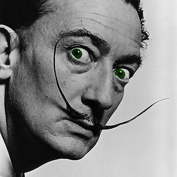 Salvador Dali digitally enhanced photo by hypnotzd