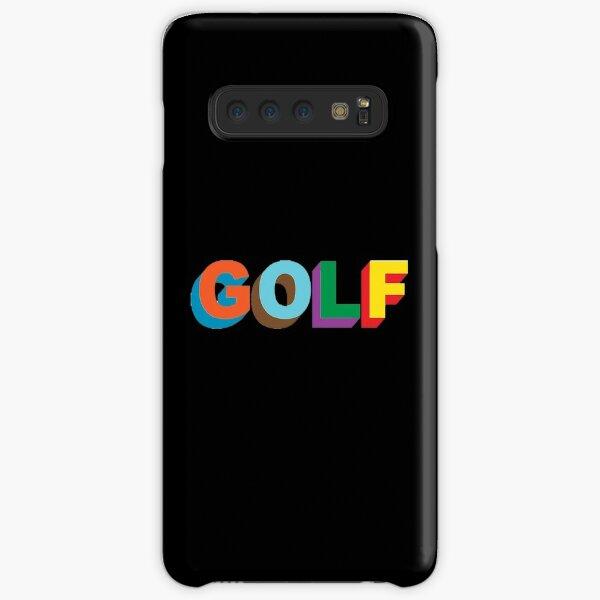 LOGO DE GOLF WANG Tyler le créateur golfwang Coque rigide Samsung Galaxy