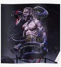 TJ Dillashaw The Python Snake Art Poster