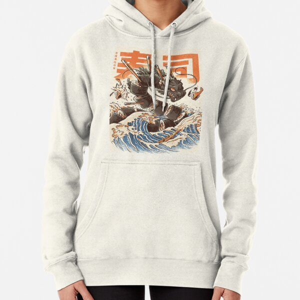 Great Sushi Dragon -  Pullover Hoodie