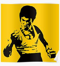Bruce Lee Art Poster