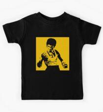 Bruce Lee Art Kinder T-Shirt